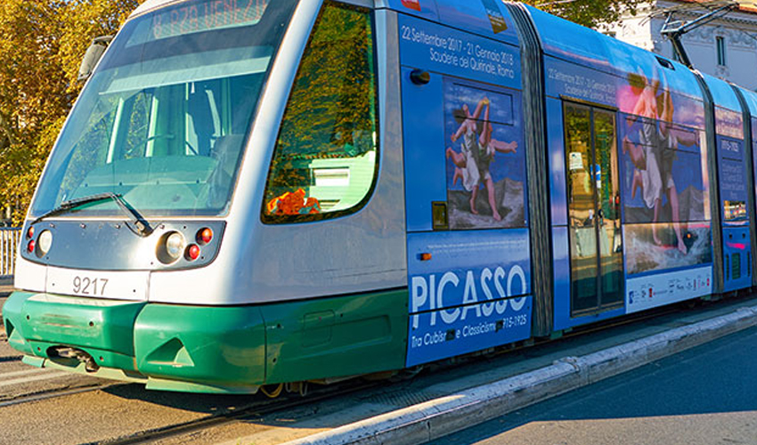 busses in italy